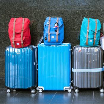 Zonder bagage op vakantie!